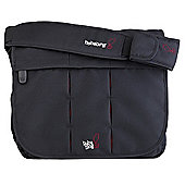 Bababing DayTripper Deluxe Paternity Satchel Black