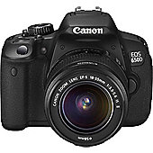 DS Canon EOS 650D SLR Camera 18-55mm IS II Lens Kit 18MP 3.0LCD FHD