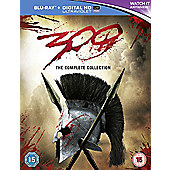 300 & 300 Rise Of An Empire Double Pack [Blu-ray]