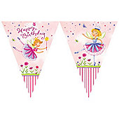 Garden Fairy Flag Banner (each)