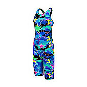 Camo Star Pacer Swimsuit - Blue