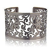 Jewelco London Sterling Silver - Cuff - Bangle - Ladies