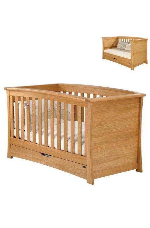 Mamas & Papas - Ocean Cot/Day Bed - Golden Oak