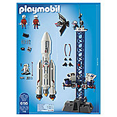 Playmobil 6195 City Action Space Rocket with Launch Site and Lights and Sound