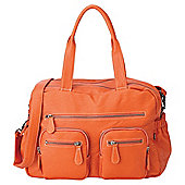 OiOi Changing Bag Orange Carry All