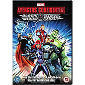 Avengers Confidential DVD