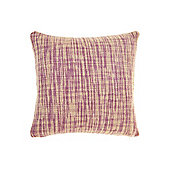 Linea Oversized Woven Cushion, Purple