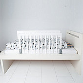 BabyDan Double Sided Wooden Bed Guard White