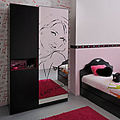 Parisot Lady Doll 2 Door Wardrobe