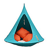 Cacoon Single Hanging Chair- Turquoise