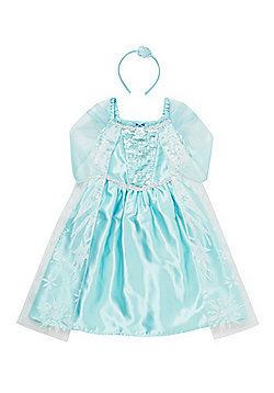 Disney Frozen Elsa Dress-Up Costume years 03 - 04 Blue