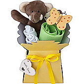 Elli Elephant Hamper Gift Box Nappy Cake