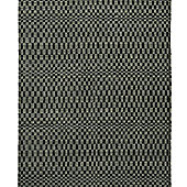 Think Rugs Sonic Green/Black Knotted Rug - 150 cm x 230 cm (4 ft 11 in x 7 ft 7 in)