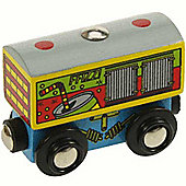 Bigjigs Wooden Railway Soft Fizzy drinks Wagon