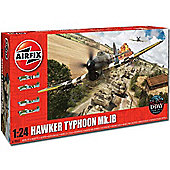 Airfix A19002 Hawker Typhoon Mkib 1:24 Aircraft Model Kit
