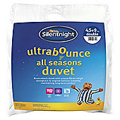 Silentnight Ultrabounce All Seasons 4.5/9 Tog Duvet, Single
