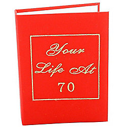 70th Birthday Photo Album - Your Life Book