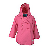 Toddler Showerproof Mac - Pink