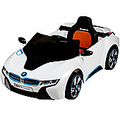 Licensed 12V BMW I8 White