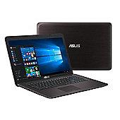 "ASUS P756 17.3"" Intel Core i5 Windows 10 Pro 4GB RAM 500GB Laptop Brown"