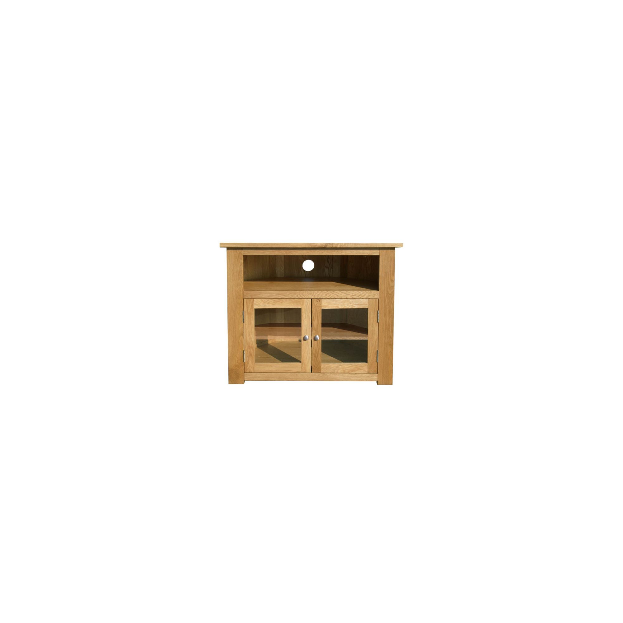 Home Zone Furniture Lincoln Corner TV Cabinet at Tesco Direct