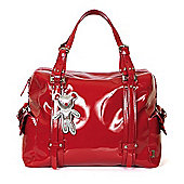 Il Tutto Nico Tote Changing Bag Red
