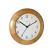 Acctim 24221 Epison Wood Wall Clock Lt Wood