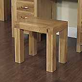 Hawkshead Rustic Oak Blonde Dressing Table Stool