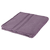 Tesco 100% Combed Cotton Bath Towel Heather