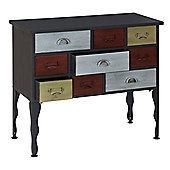 Premier Housewares New York Loft 9 Drawer Cabinet