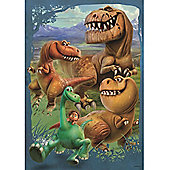 Jumbo Disney Pixar The Good Dinosaur Giant Floor 50 pc Puzzle