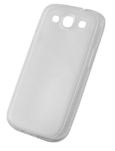 Tortoise™ Soft Gel Case Samsung Galaxy SIII Frosted