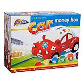 Grafix Paint Your Own Car Money Box