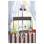Lollipop Lane Speedy Pup Cot Mobile