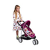 Britax B-Agile Dolls Buggy (Cool Berry)