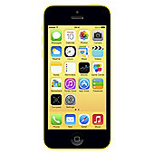 Tesco Mobile Apple iPhone 5c 8GB Yellow