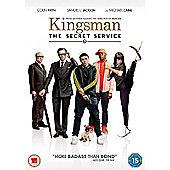 Kingsman The Secret Service DVD