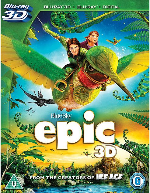 Epic  (3D Bluray, Bluray & Digital Copy)