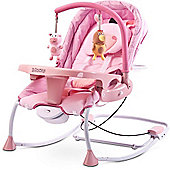 Caretero Rancho Baby Bouncer (Pink)