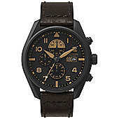 Grayton Harrier Mens Leather Chronograph Date Watch GR-0014-006.3