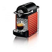 Krups Nespresso Pixie Coffee Maker, Red