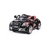 New Coupe Roadster 12V Kids Electric Ride On In Black