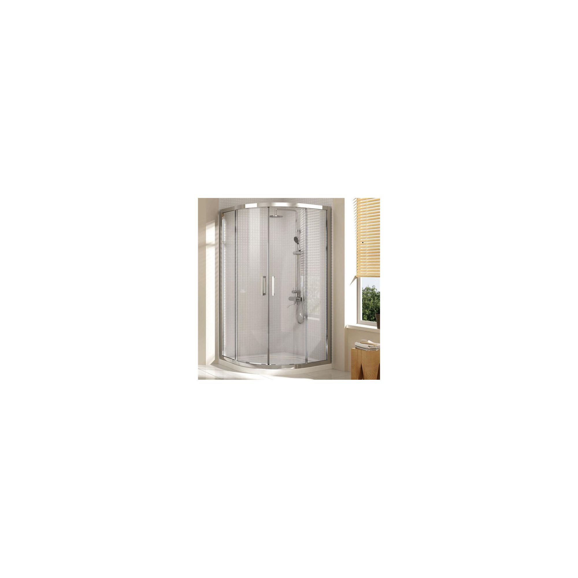 Merlyn Vivid Eight Quadrant Shower Door, 1000mm x 1000mm, 8mm Glass at Tesco Direct