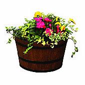Whiskey Barrel Garden Planter