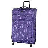 IT Luggage Megalite 4-Wheel Suitcase, Purple Extra Large