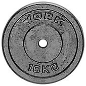 York Fitness 10kg Cast Plate