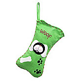 Cat & Dog Lovers Christmas Stockings - Black Dog