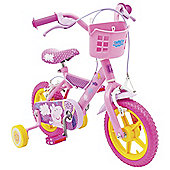 "Peppa Pig 12"" Kids' Bike with Stabilisers"