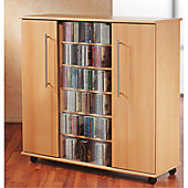 VCM V cm CD Storage Cabinet - Core Walnut