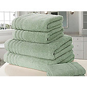 Zero Twist Bath Towel - Green
